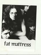 """- **1x  FOTO """"""""  FAT  MATTRESS """""""" - Zangers En Musicus"""