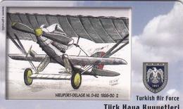 TURKEY - Nieuport-Delage Ni.D-62 1926-30 (Aircraft) , Tirage 275,000 , 50 Unit ,used - Türkei