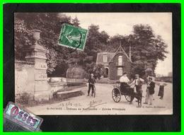 St.PATRICE Château De Rochecotte Entrée Principale (recto Verso) - Andere Gemeenten