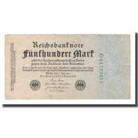 Billet, Allemagne, 500 Mark, 1922, 1922-07-07, KM:74c, TTB - [ 3] 1918-1933 : République De Weimar