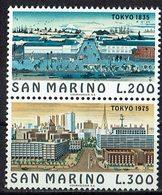 San Marino 1975 // Mi. 1097/1098 ** - San Marino