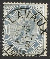 """N° 39 EC Met """"LAVAUX"""" Zonder Gebreken   Coba 30 - 1869-1883 Leopold II"""