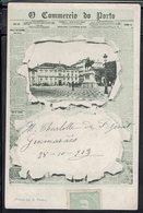 """Portugal - 1904 - Imprimés CPA """"Commercio Do Porto"""" Correspondance De Guimarès Pour Rambervillers (Fr) B/TB - - 1910 : D.Manuel II"""