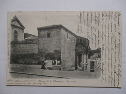 CPA CPSM CP CARTOLINA ITALIE ITALIA LAZIO LATIUM ROME ROMA 1904 - CHIESA DI S. CLEMENTE FACCIATA / EGLISE - TBE - Iglesias