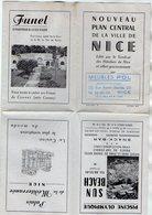 VP16.253 - Nouveau Plan Central De La Ville De NICE ......par Meubles POL - Planches & Plans Techniques