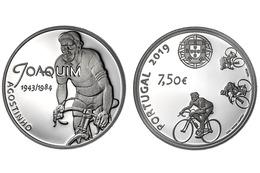 """PORTUGAL  7,5€ 2.019  2019 Cu Ni  SC/UNC  """"ÍDOLOS DO DESPORTO - JOAQUIM AGOSTINHO""""  T-DL-12.323 - Portugal"""
