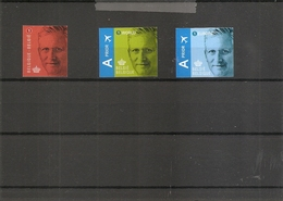 Belgique - Roi Philippe ( 4369/4361 Non Dentelés) - Imperforates