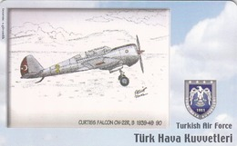 TURKEY - Curtiss Falcon CW-22R,B 1939-49 (Aircraft) , Tirage 200,000 , 50 Unit ,used - Türkei