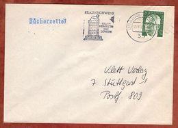 Buecherzettel, Heinemann, MS Braunschweig Stadt Heinrich Des Loewen, Nach Stuttgart 1974? (82856) - BRD