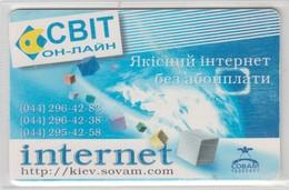 UKRAINE LIGHT ON LINE INTERNET KIEV SOVAM - Ucraina