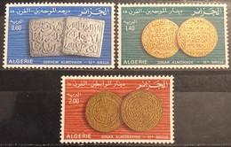 Algeria, 1977,  Mi: 714/16 (MNH) - Monete