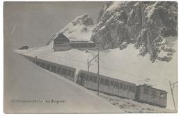 Wendelstein Wendelsteinbahn Crémaillière Zahnradbahn Bergbahn Triebwagen Eisenbahn Train 1930er - Zugspitze