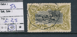 BELGIAN CONGO 1909 ISSUE COB 53 USED THYSVILLE - Congo Belge