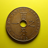 French Indo-China 1 Cent 1923 - Colonias