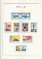 Sheets Leuchtturm For Thailand 1997. Attention!!! Sheets Sold Without Stamps. - Thailand