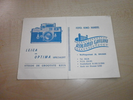 Ancienne Carte ROALND GUILINI   BRUGGE - Straßenhandel Und Kleingewerbe