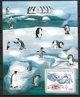 TAAF 2013 Bloc N° F 682 Neuf Oiseaux Manchots Des TAAF - Hojas Bloque