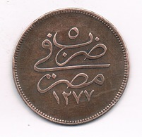 10 PARA 1277/5 AH EGYPTE /9070/ - Egypte