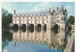 Chenonceaux ( Indre E Loira ) Le Chàteau, Facade Est. - Il Castello Facciata Est. - Castelli