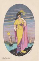 CPA Femme Lady Glamour Women Girl Mode Belle De Nuit  B.G. Paris 582  Illustrateur X. SAGER  (2 Scans) - Sager, Xavier