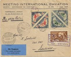 Aviation - Meeting Int. D'aviation Genève 1925 - Avions