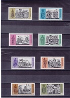 BULGARIE 1973 HISTOIRE DE LA BULGARIE  Yvert 2035-2042 NEUF** MNH - Bulgarien