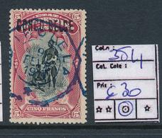 BELGIAN CONGO 1909 ISSUE COB 38L1 USED - Belgisch-Kongo