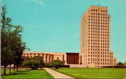 North Dakota Bismarck State Capitol Building 1970 - Bismark