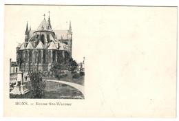 MONS - Eglise Ste-Waudru - Dos Non Divisé - Mons