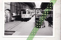 Orginele Foto Trams Atelier Werkplaats La Brugoise 1974, Grootte 12,5cm Op 9cm - Trains