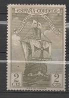 Espagne N°444*, Caravelle De Christophe Colomb - 1889-1931 Kingdom: Alphonse XIII
