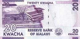MALAWI P. 63d 20 K 2017 UNC (2 Billets) - Malawi