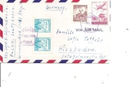 Corée Du Sud ( Lettre De 1956 De Pusan Vers L'Allemagne à Voir) - Corée Du Sud