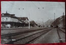 N°157) CPA DE SION-la Gare - Switzerland