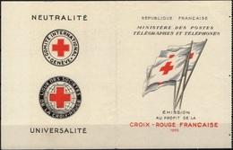FRANCE Carnet 2004 Couverture Croix-Rouge Carnet Vide 1955 [GR] - Croix Rouge