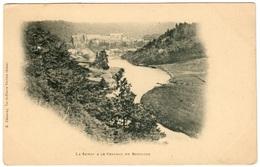BOUILLON - La Semoy Et Le Château - Dos Non Divisé - Bouillon