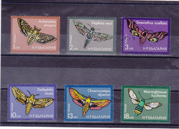 BULGARIE 1975 PAPILLONS Yvert 2163-2168 NEUF** MNH - Bulgarien