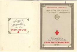 FRANCE Carnet 2006 Carnet Croix-Rouge 1957 Le Moins Cher Sur Delcampe à 18% (CV 90 €) [GR] - Booklets