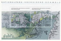 BRD  Block 44, Gestempelt, Sächsische Schweiz 1998 - [7] Repubblica Federale