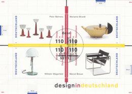 BRD  Block 45, Gestempelt, Design 1998 - [7] Repubblica Federale