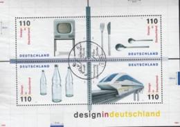 BRD  Block 50, Gestempelt, Design 1999 - [7] Repubblica Federale