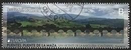 2018-ED. 5226 - Europa. Puentes. Puente De La Maza. San Vicente De La Barquera- USADO - 1931-Hoy: 2ª República - ... Juan Carlos I