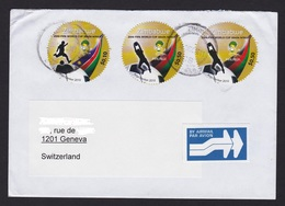 Zimbabwe Cover With 2010 SAPOA Fifa World Cup (Simbabwe) - Zimbabwe (1980-...)