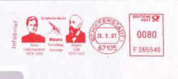 Anna Celli-Fraentzel Angelo Anopheles Malaria Forschung Vorsorge  Infobrief Schifferstadt 67105 AFS - Krankheiten