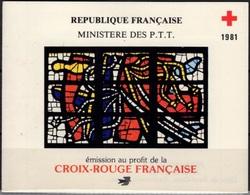 FRANCE Carnet 2030 Carnet Croix-Rouge 1981 Avec Cachet FDC 1er Jour En Rouge 62 [GR] - Booklets