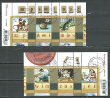 Pays-Bas YT N°2318/2323 (Timbres Se-tenant) Oblitéré ° - Periodo 1980 - ... (Beatrix)