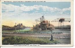 1922 - Élévateurs à Charbon Dans Le Port De Montreal, Montreal, Québec, (D91) - Montreal