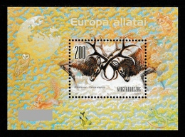 HUNGARY 2001 European Wildlife/Red Deer: Miniature Sheet UM/MNH - Hungary