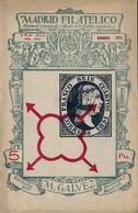 1951 . MADRID FILATÉLICO , AÑO XLV , Nº 510/1 , EDITADA POR M. GALVEZ , ÓRGANO DE PROPAGANDA Y DIFUSIÓN DE LA FILATELIA - Espagnol (desde 1941)