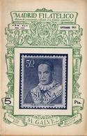 1951 . MADRID FILATÉLICO , AÑO XLV , Nº 518/9 , EDITADA POR M. GALVEZ , ÓRGANO DE PROPAGANDA Y DIFUSIÓN DE LA FILATELIA - Espagnol (desde 1941)